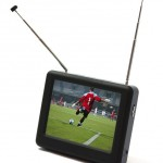 Clearance lot mini portable TV